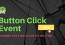 Android Studio Tutorial for Beginner #6: Button Click Listener and Text Change